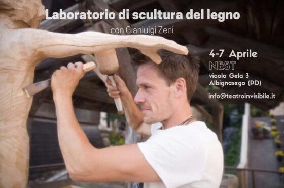 Laboratorio di scultura del legno con Gianluigi Zeni