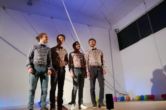 Il videoclip degli Honolulu Quartet creato con InterAzioni