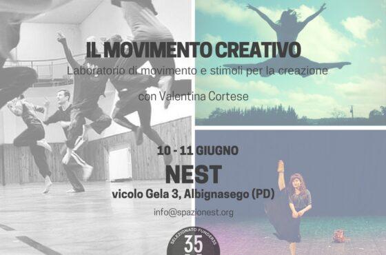 Il movimento creativo – con Valentina Cortese
