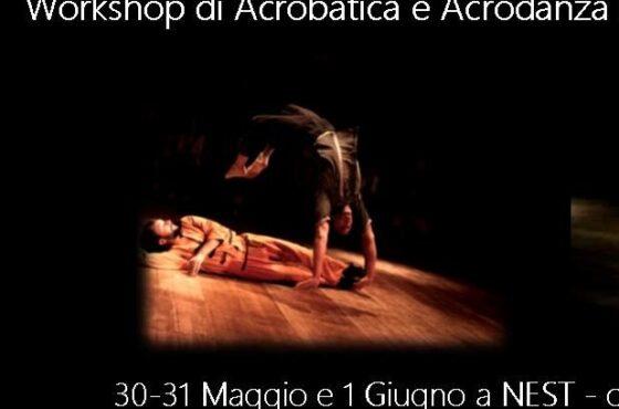 Acrodanza con Daniele Sorisi (MagdaClan Circo)