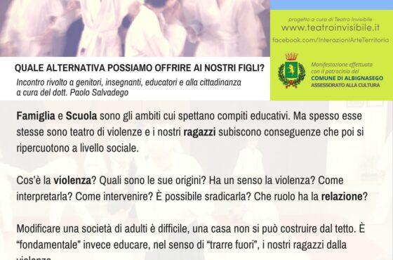 Conferenza sul tema della Violenza