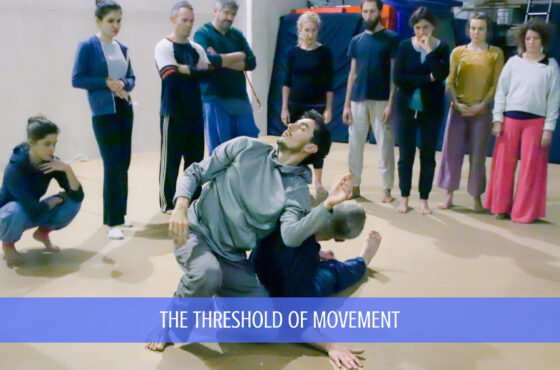 The threshold of movement