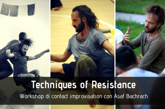Techniques of resistance – Workshop con Asaf Bachrach